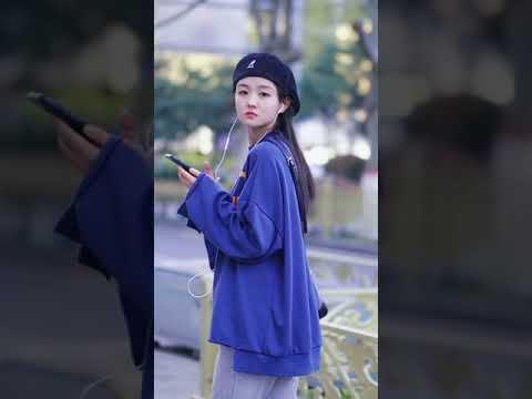 Asian cute girl tiktok girl dance little asian girl